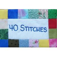 Logo 40 Stitches Stickereien und Applikationen in der Pariser Str. 21, München Haidhausen