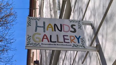 Hands Gallery Pariser Str. 21 Munich / Haidhausen