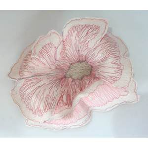 3D Stoffblume