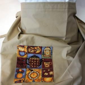 Kellnerschürze mit Stofftasche