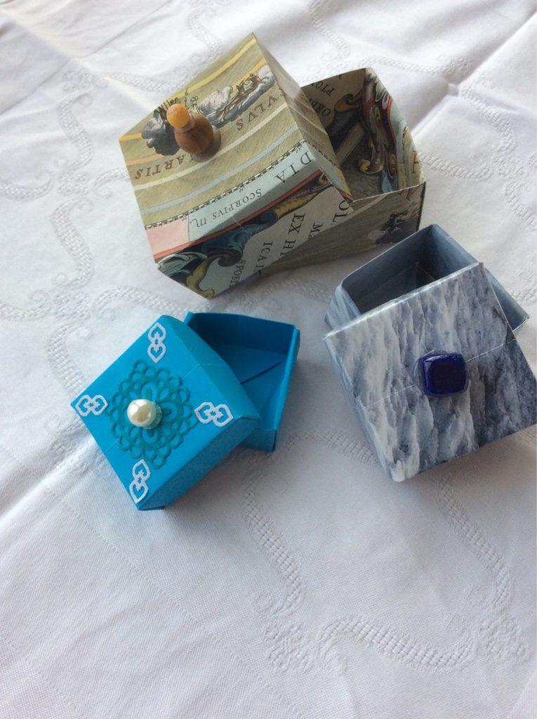 Schachtelnfalten mit PapQuilUni