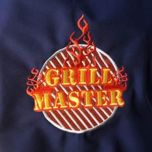 Grill Master Stickerei