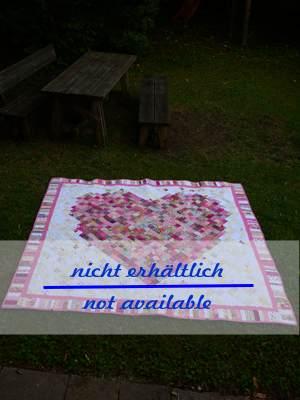 Heart Quilt 204 x 210 cm