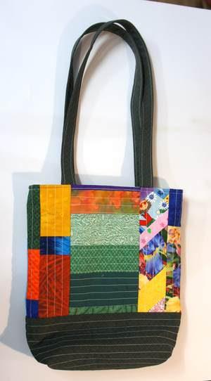 Patchwork Handtasche bunt