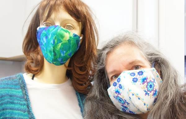 Maskenpflicht in der Hands Gallery
